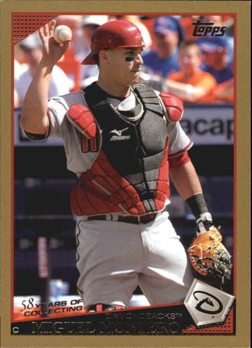 Photo of 2009 Topps Gold Border #64 Miguel Montero