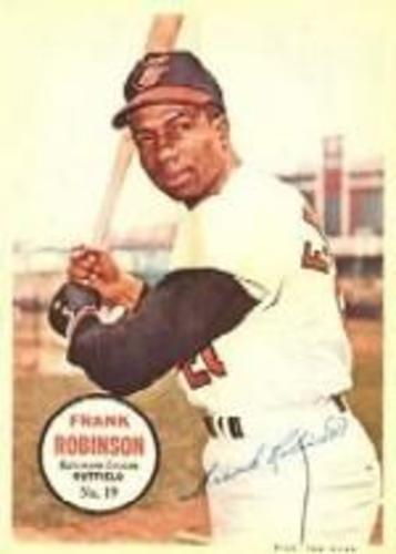 Photo of 1967 Topps Posters Inserts #19 Frank Robinson