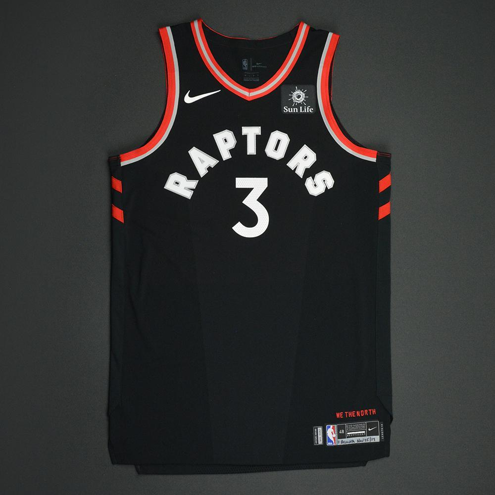 buy popular ad8d8 6bf13 OG Anunoby - Toronto Raptors - Statement Game-Issued Jersey ...