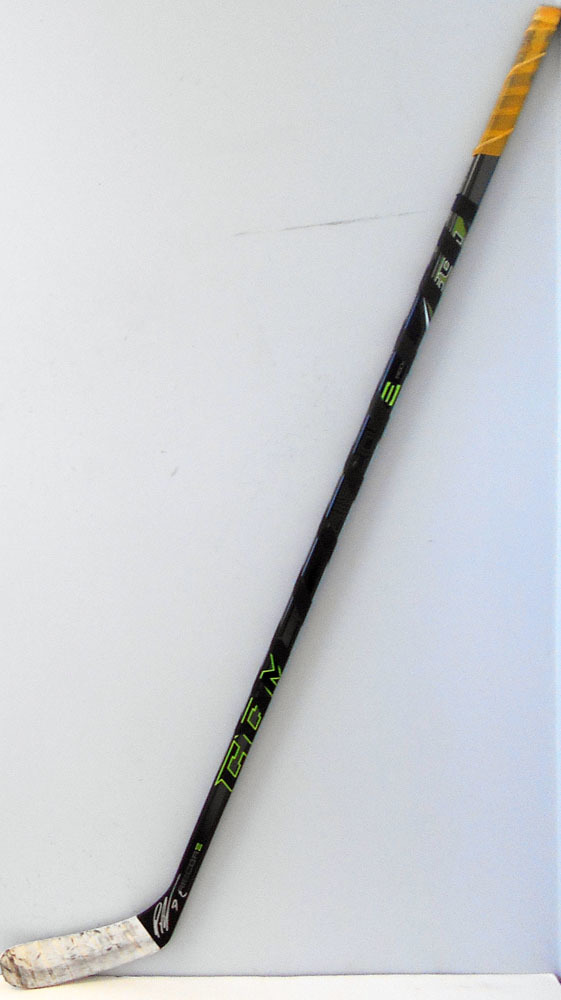 #72 PatricHornqvist Game Used Stick - Autographed - Pittsburgh Penguins