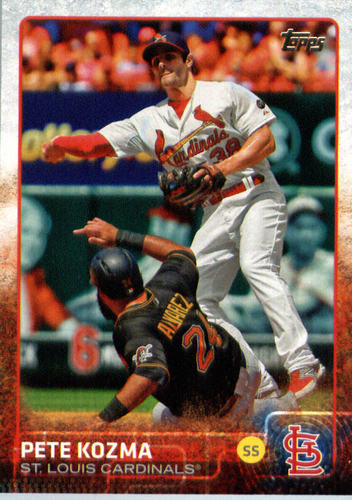 Photo of 2015 Topps Update #US338 Pete Kozma