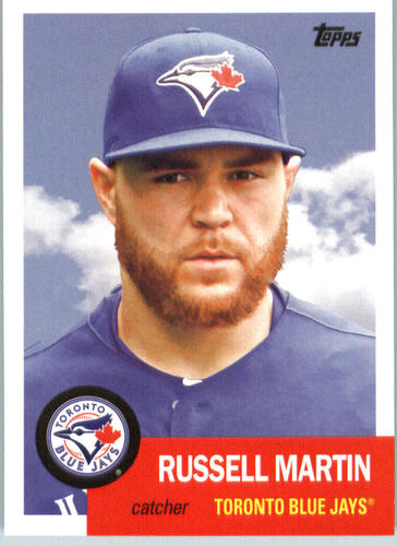 Photo of 2016 Topps Archives #29 Russell Martin