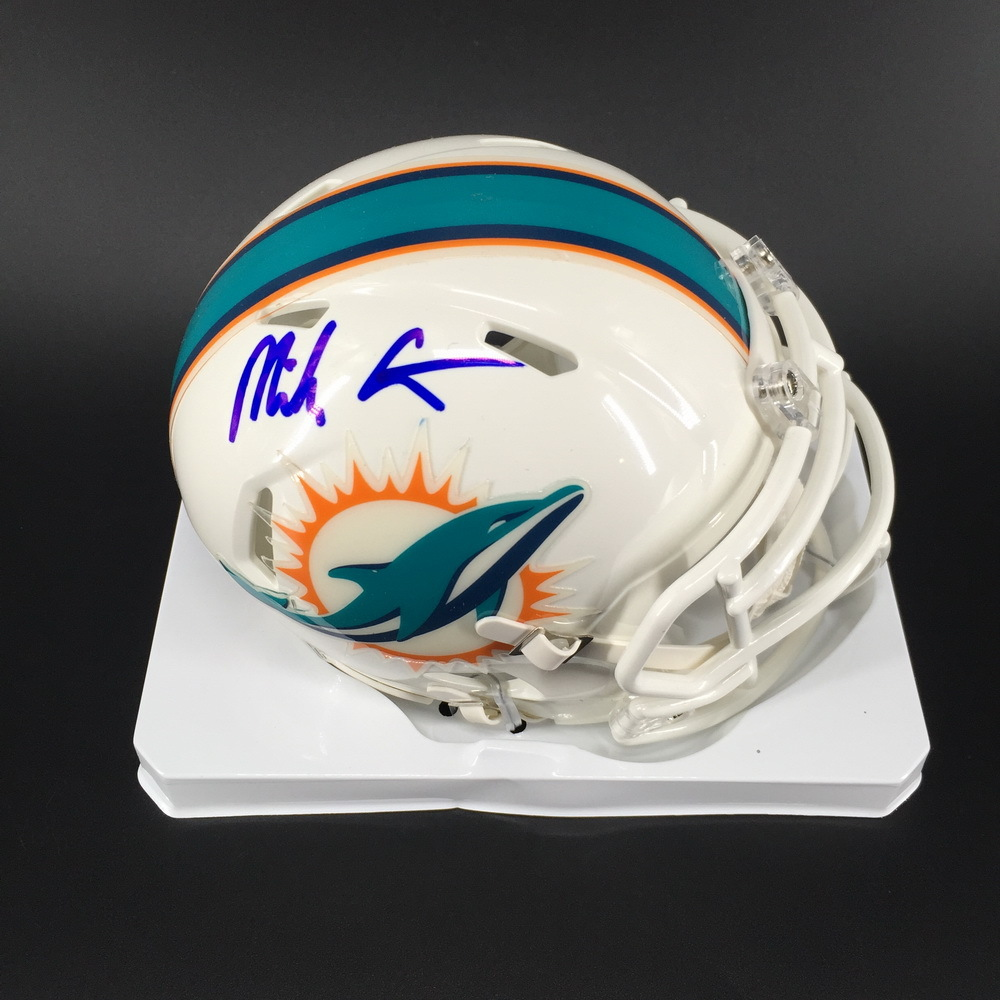 NFL - Dolphins Mike Gesicki Signed Mini Helmet