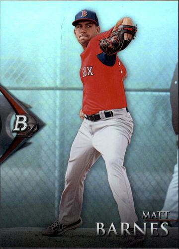 Photo of 2014 Bowman Platinum Prospects #BPP28 Matt Barnes