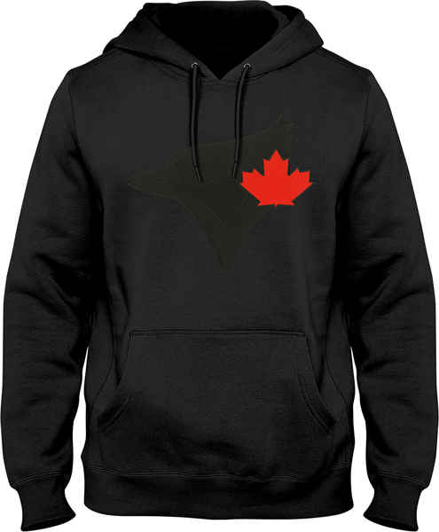 Toronto Blue Jays Express Hoodie with Black Logo by Bulletin