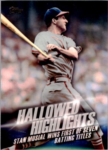 Photo of 2016 Topps Hallowed Highlights #HH1 Stan Musial