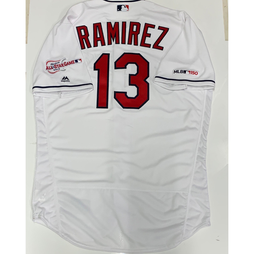 Photo of Hanley Ramirez Team Issued 2019 Home Jersey