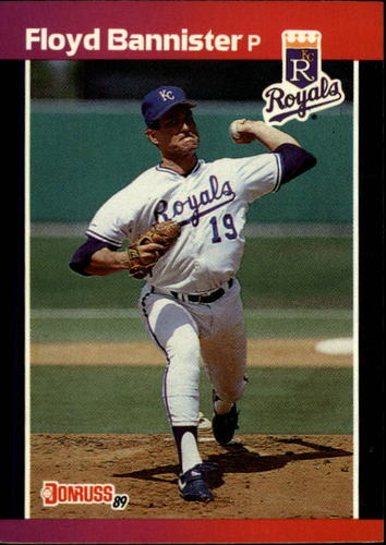 Photo of 1989 Donruss #262 Floyd Bannister