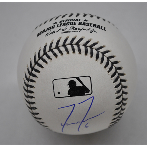 Photo of MLB Opening Day Auction Supporting The Players Alliance - Black Lives Matter Baseball signed by Freddie Freeman
