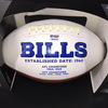 Bills - Matt Milano Signed Panel Ball with Bills Logo