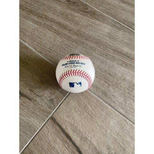 Photo of 9/23/20 Game-Used Baseball, Rangers at D-backs: Daulton Varsho Tripled off of Nick Goody, Scored Carson Kelly