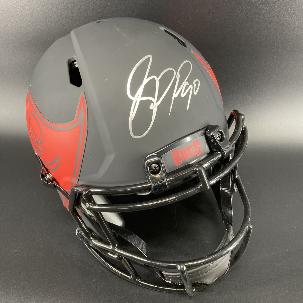 NFL - Buccaneers Eclipse Helmet Signed by Jason Pierre-Paul