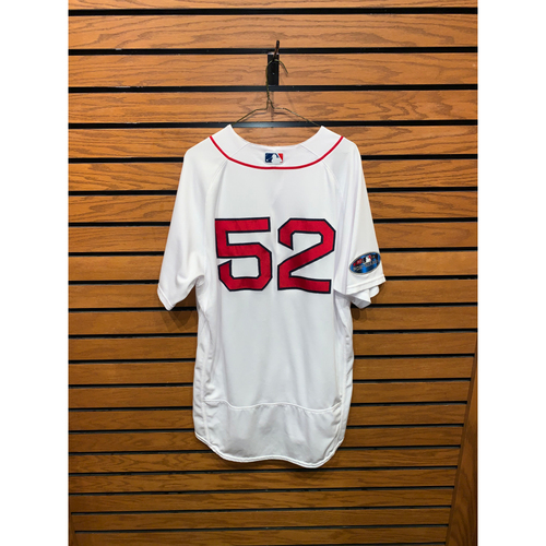 Photo of Carlos Febles Game Used September 29, 2018 Home Jersey