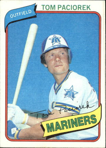 Photo of 1980 Topps #481 Tom Paciorek