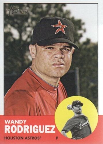 Photo of 2012 Topps Heritage #99 Wandy Rodriguez