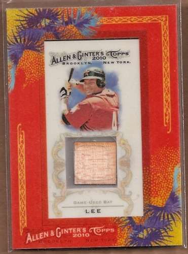 Photo of 2010 Topps Allen and Ginter Relics #CL Carlos Lee