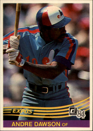 Photo of 1984 Donruss #97 Andre Dawson UER/Wrong middle name,/should be Nolan