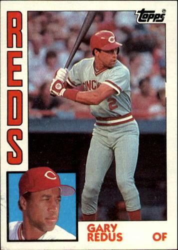 Photo of 1984 Topps #475 Gary Redus RC