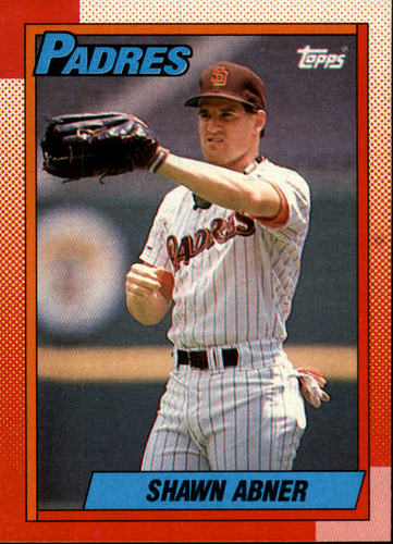 Photo of 1990 Topps #122 Shawn Abner