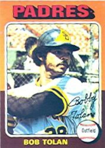 Photo of 1975 Topps #402 Bob Tolan