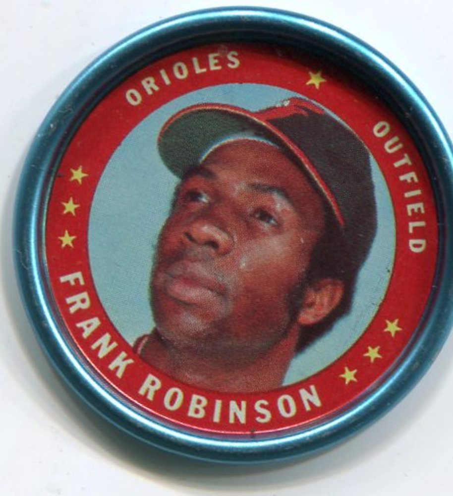 1971 Topps Coins #50 Frank Robinson