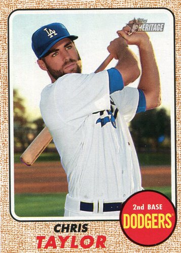 Photo of 2017 Topps Heritage #565 Chris Taylor