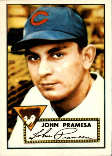 Photo of 1983 Topps 1952 Reprint #105 Johnny Pramesa