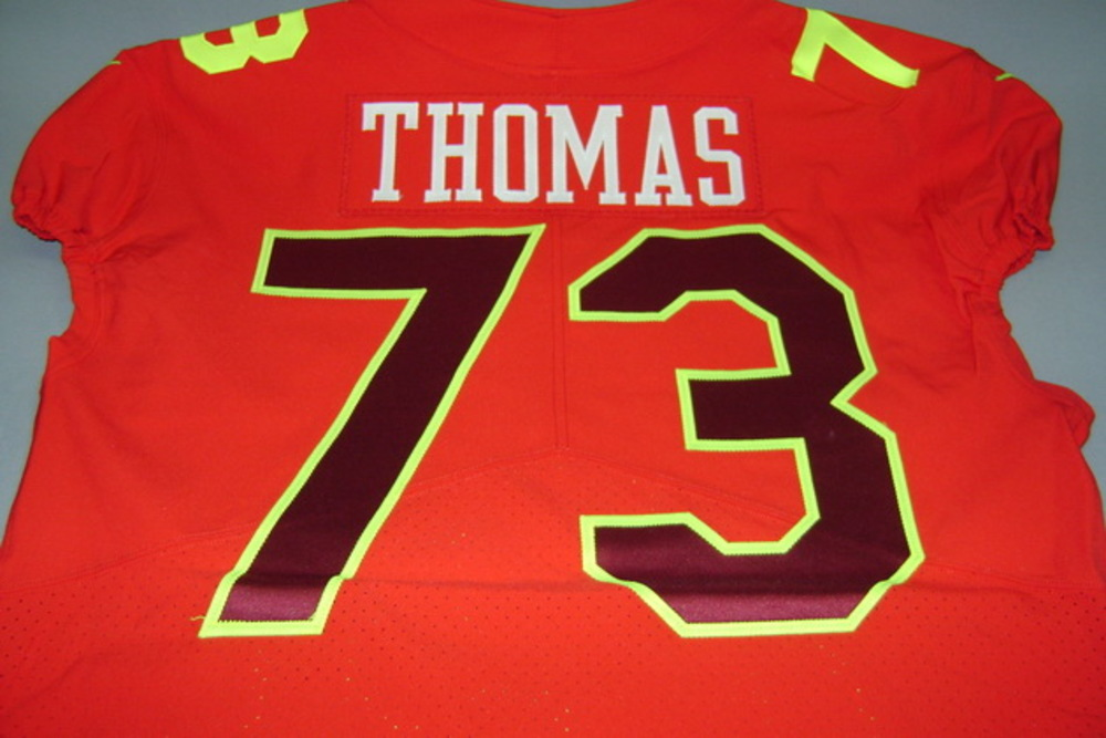super popular 9d7b4 d1f07 NFL Auction | NFL - BROWNS JOE THOMAS GAME ISSUED AFC PRO ...