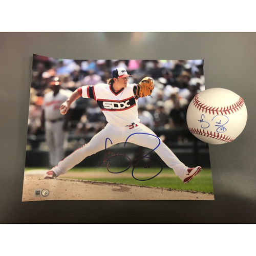 Photo of Pitchers and Catchers Report: Carson Fulmer Autographed Baseball and Photo