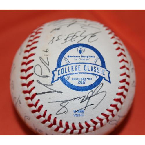 Photo of AutographedLSUTeam 2017 SHC College Classic Baseball - Not MLB Authenticated