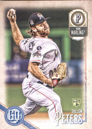 Photo of 2018 Topps Gypsy Queen #234 Dillon Peters RC