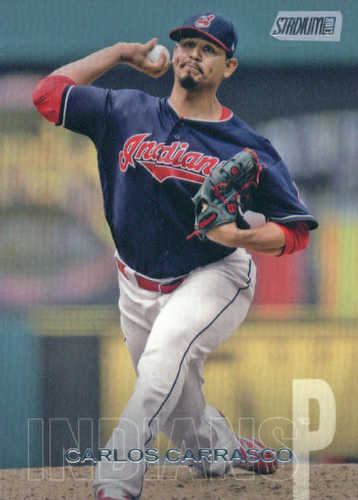 Photo of 2018 Stadium Club #270 Carlos Carrasco
