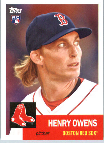 Photo of 2016 Topps Archives #31 Henry Owens RC