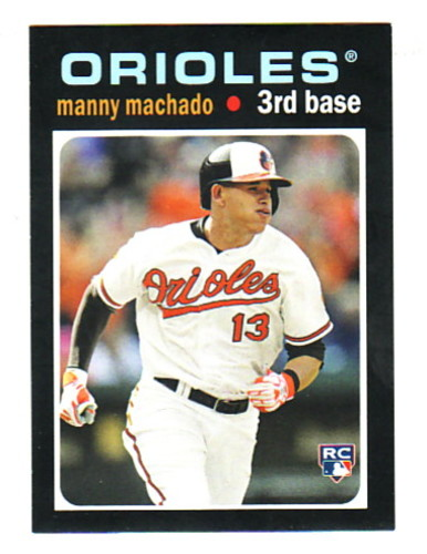 Photo of 2013 Topps Update 1971 Topps Minis #50 Manny Machado