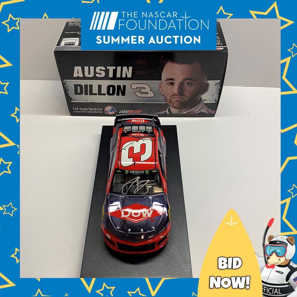 NASCAR's Austin Dillon Autographed #3 Diecast!