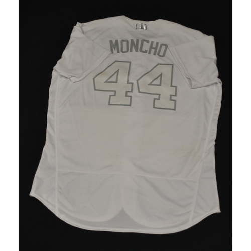 "Photo of Rene ""MONCHO"" Rivera New York Mets Game-Used 2019 Players' Weekend Jersey"