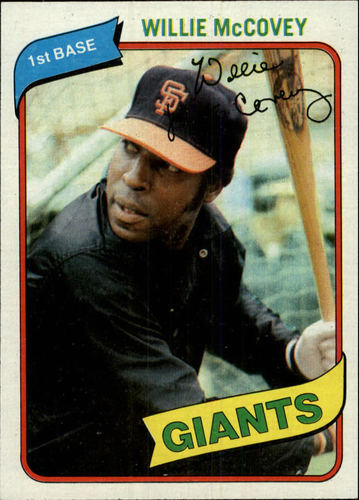 Photo of 1980 Topps #335 Willie McCovey
