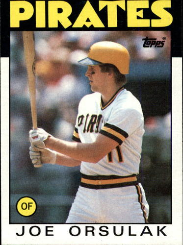 Photo of 1986 Topps #102 Joe Orsulak RC*
