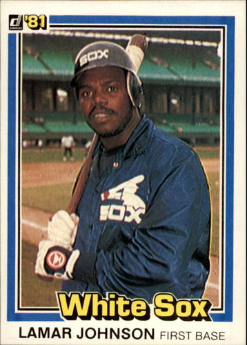 Photo of 1981 Donruss #38 Lamar Johnson