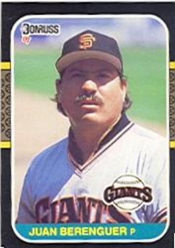 Photo of 1987 Donruss #616 Juan Berenguer