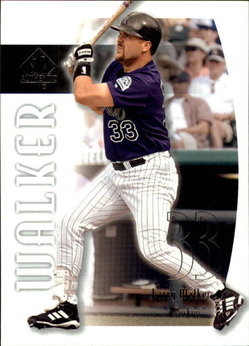 Photo of 2002 SP Authentic #89 Larry Walker