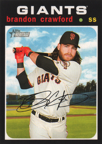 Photo of 2020 Topps Heritage #178 Brandon Crawford