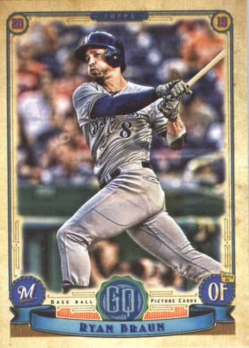 Photo of 2019 Topps Gypsy Queen #172 Ryan Braun
