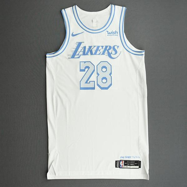 Image of Alfonzo McKinnie - Los Angeles Lakers - Christmas Day' 20 - Game-Worn City Edition Jersey
