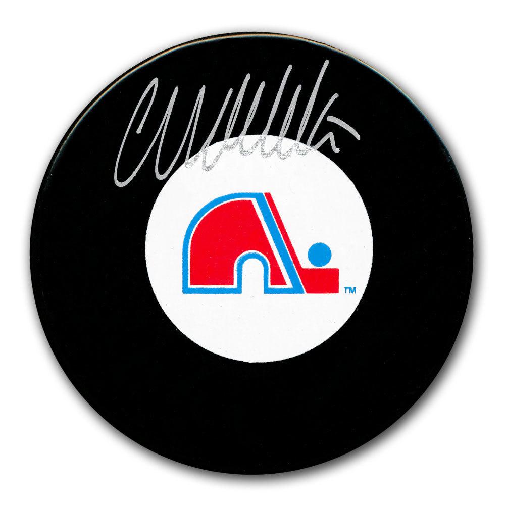 Wendel Clark Quebec Nordiques Autographed Puck