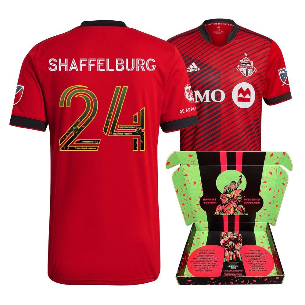 Jacob Shaffelburg Toronto FC Match-Used & Signed