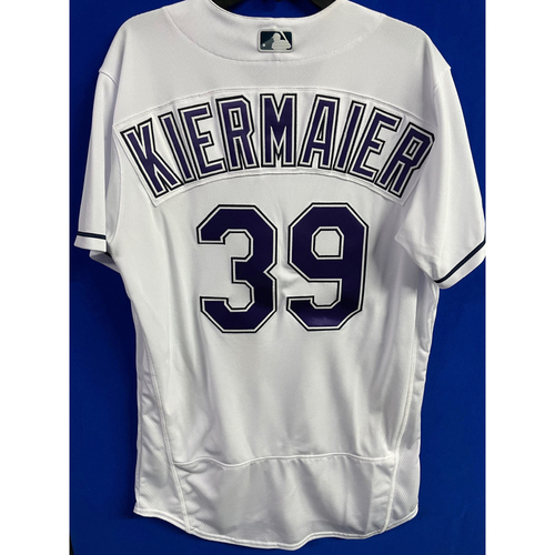 Photo of Game Used Devil Rays Jersey: Kevin Kiermaier - May 29, 2021 v PHI