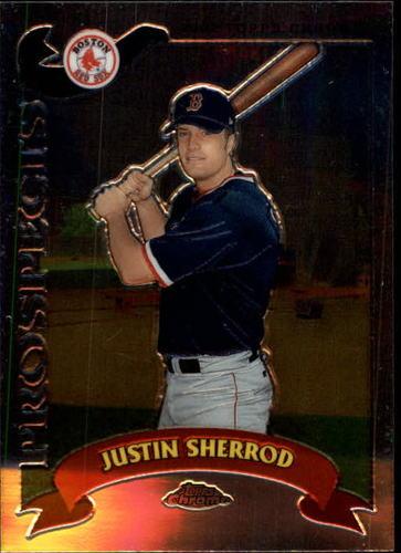 Photo of 2002 Topps Chrome Traded #T263 Justin Sherrod RC