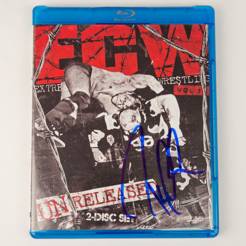 Paul Heyman SIGNED copy of ECW: Unreleased Vol. 1 Blu-ray