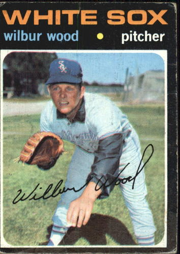 Photo of 1971 Topps #436 Wilbur Wood